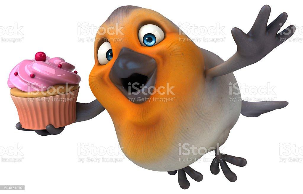 Fun bird photo libre de droits