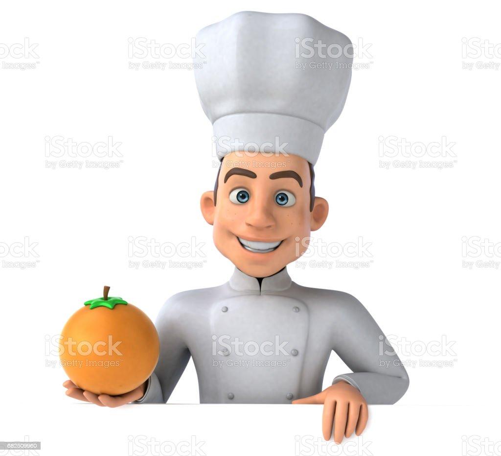 Lustige chef Lizenzfreies stock-foto