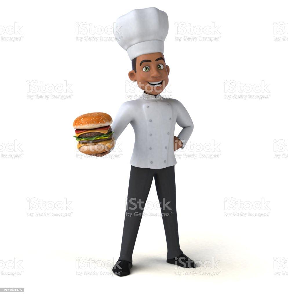 Fun chef Стоковые фото Стоковая фотография