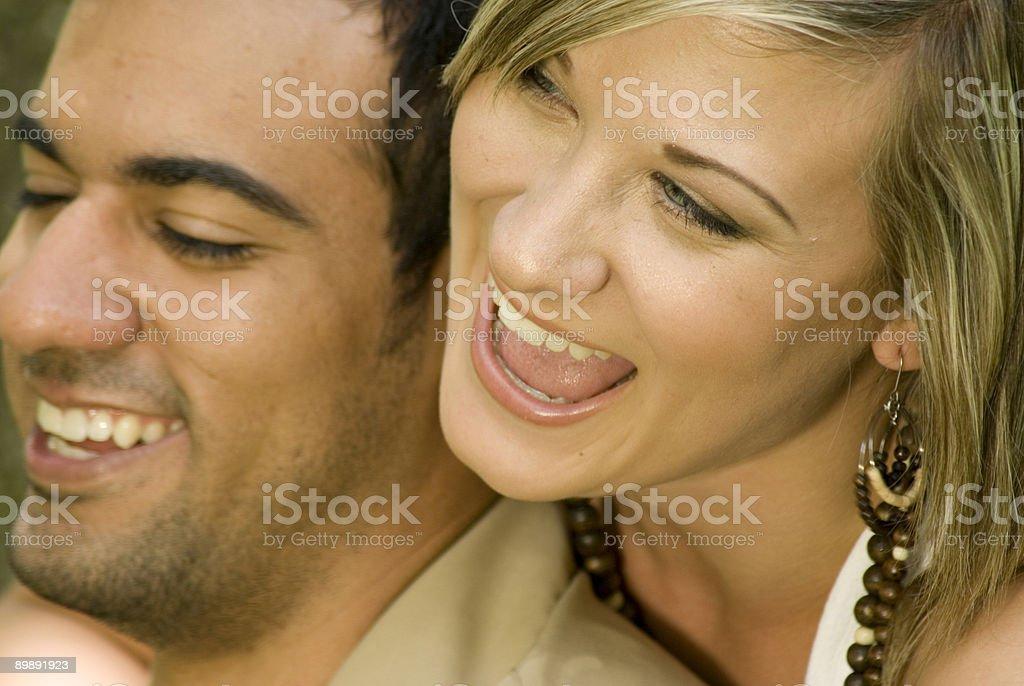 Fun Couple royalty-free stock photo