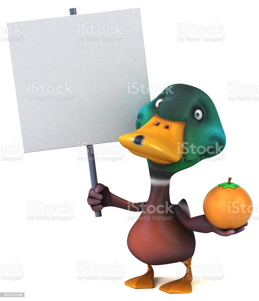 Fun de canard photo libre de droits
