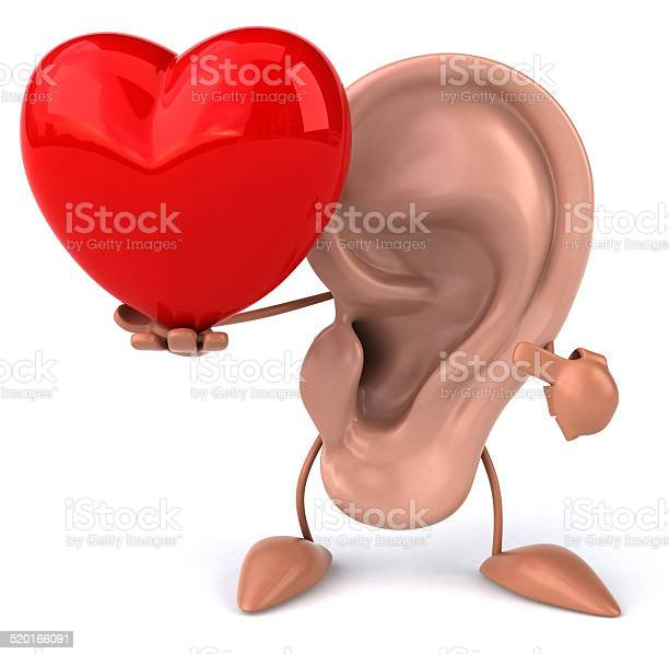 Fun Ear Stock Photo - Download Image Now