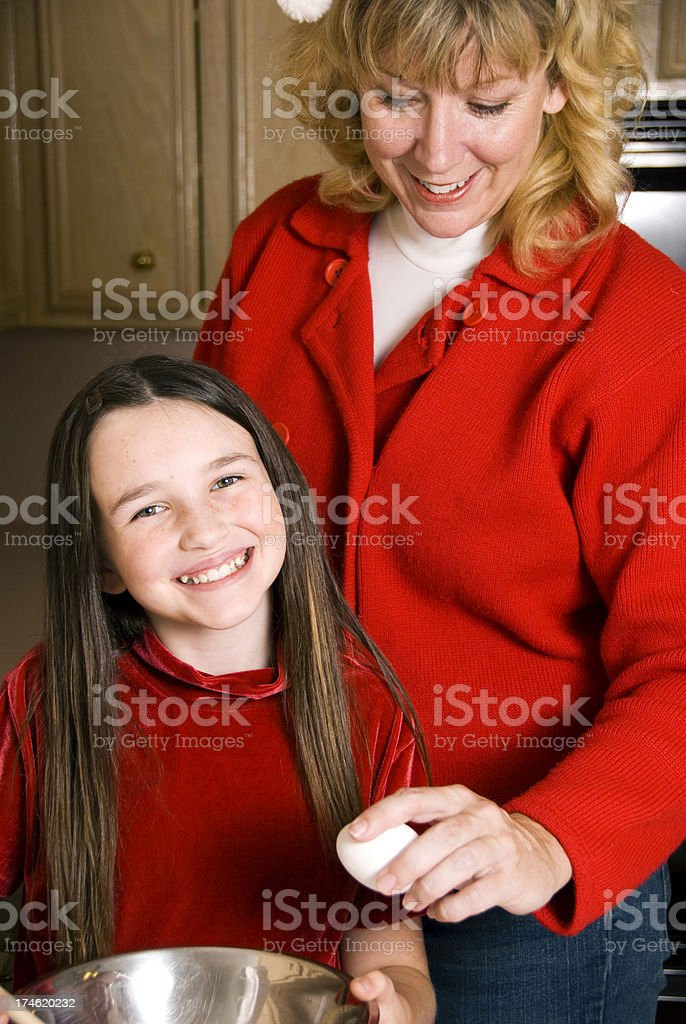 Fun Family Christmas royalty-free stock photo