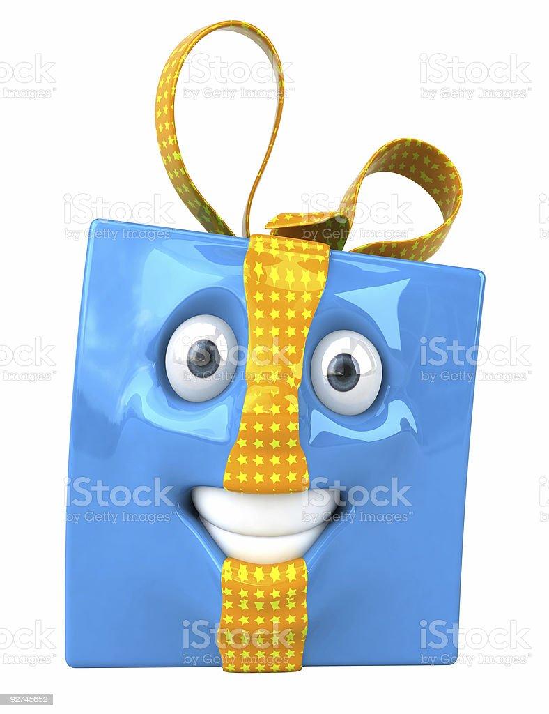 Spaß Geschenk Lizenzfreies stock-foto