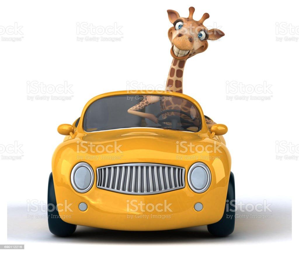Lustigen giraffe – Foto