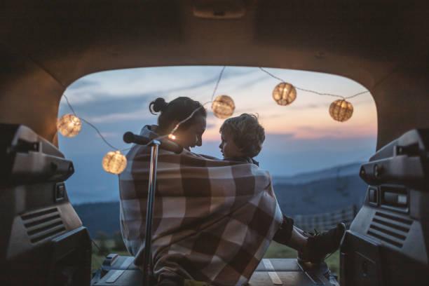 Spaß im Kofferraum – Foto