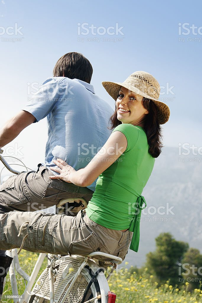 fun in the countryide royalty-free stock photo