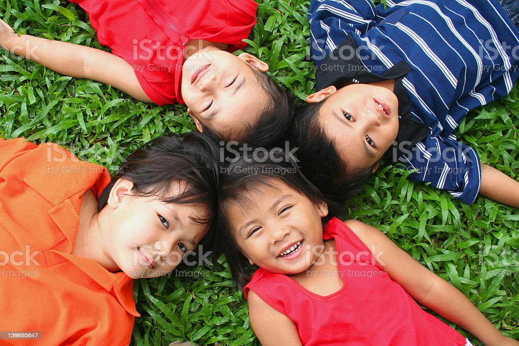Fun in the park! royalty-free stock photo