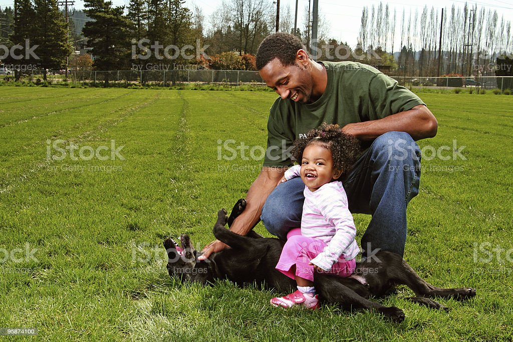 fun in the park royalty-free stock photo