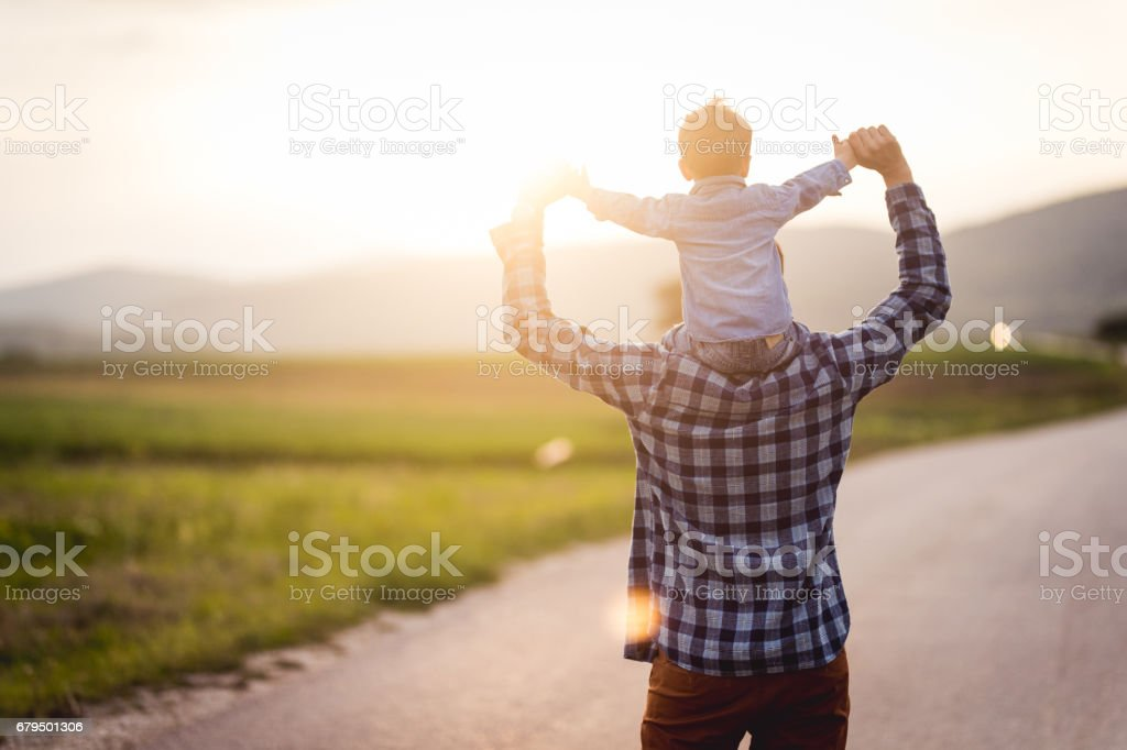 Fun in the spring royalty-free stock photo