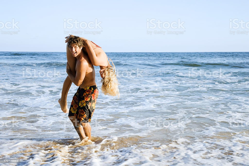 Fun in The Sun royalty-free stock photo