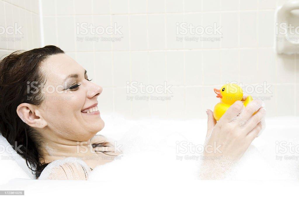 fun in the tub royalty-free stock photo