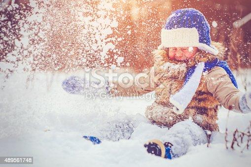 istock Fun in winter 489561748