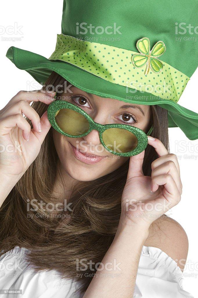 Fun Irish Girl stock photo