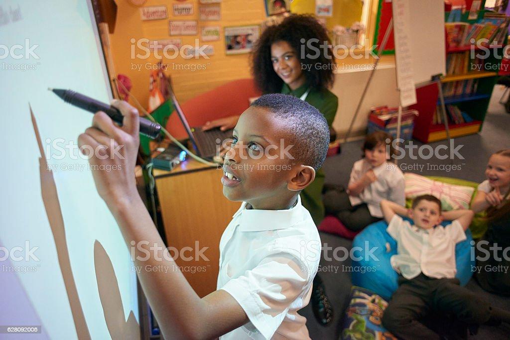 fun learning stock photo