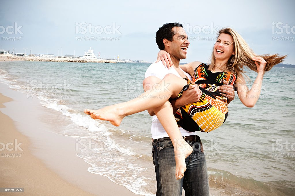 Fun on the french riviera royalty-free stock photo