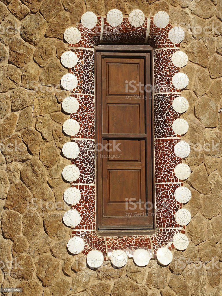 gaudi royalty-free stock photo