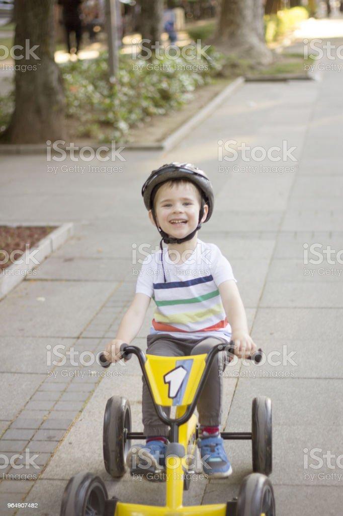 Fun Ride royalty-free stock photo