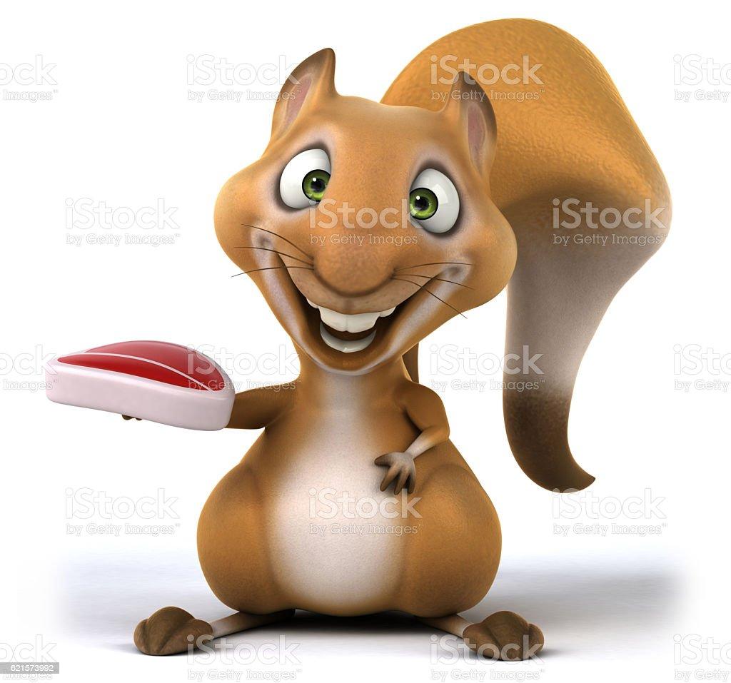 Écureuil loisirs photo libre de droits