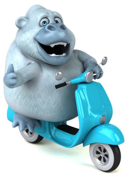 Fun white gorilla 3d illustration picture id1026508906?b=1&k=6&m=1026508906&s=612x612&w=0&h=gdubdk6hw2mtgfihjvkwguxnqqt fiecc6wedjjx93k=