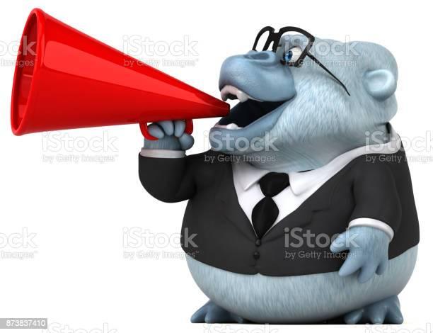 Fun white gorilla 3d illustration picture id873837410?b=1&k=6&m=873837410&s=612x612&h=vycmbnmniaefgkpvu vjo pafkxbgwycm4ql9tr6wcq=