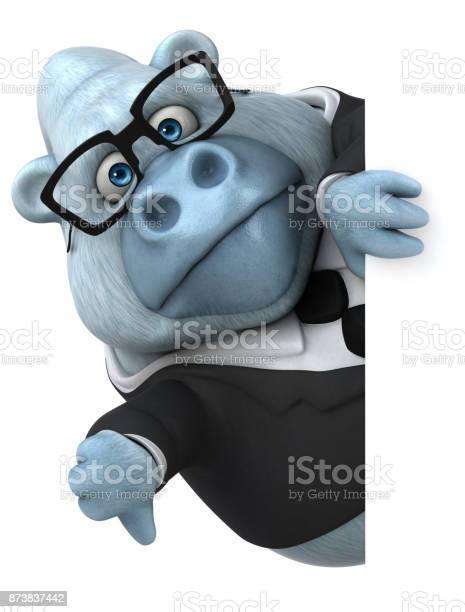Fun white gorilla 3d illustration picture id873837442?b=1&k=6&m=873837442&s=612x612&h=ip5nqhf1kv azcpcpu7ykpsypfcdzioicxr13 ntg6g=