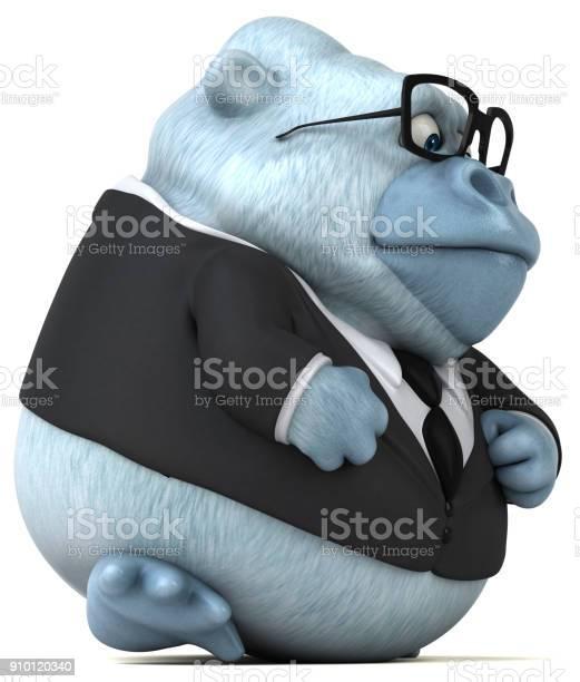 Fun white gorilla 3d illustration picture id910120340?b=1&k=6&m=910120340&s=612x612&h=kdqi udh54reebvquxpytia3drzf02tuoxt1mgk6ime=