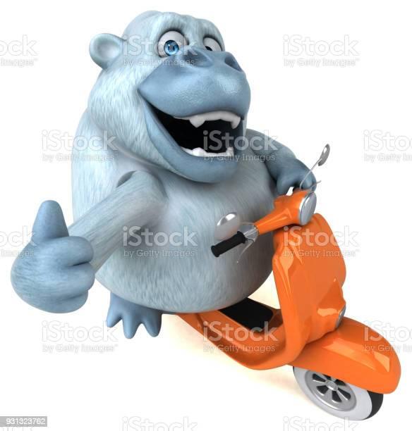 Fun white gorilla 3d illustration picture id931323762?b=1&k=6&m=931323762&s=612x612&h=awgxadvmfiem7tsrnj2qpd1kj  xhz4xngx qohgp u=