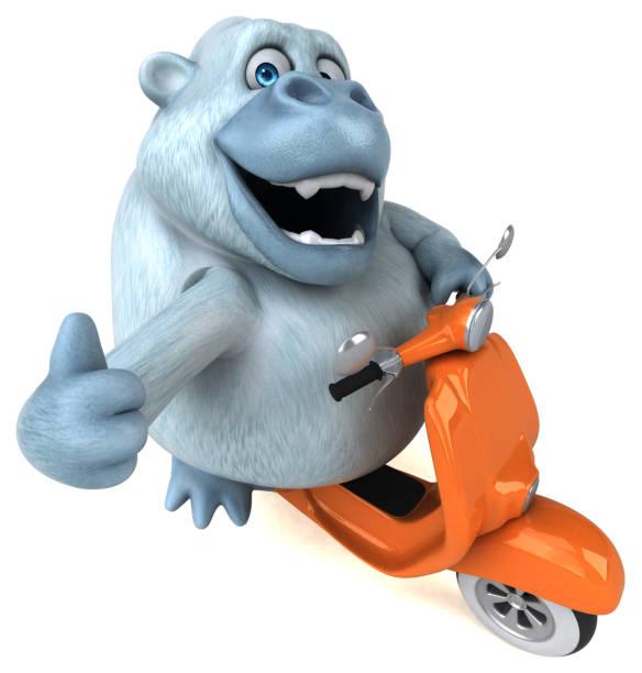 Fun white gorilla 3d illustration picture id931323762?b=1&k=6&m=931323762&s=612x612&w=0&h=j6csa04bkt8u93fcsl6bnllg3crn41jy2 wuaen8cry=