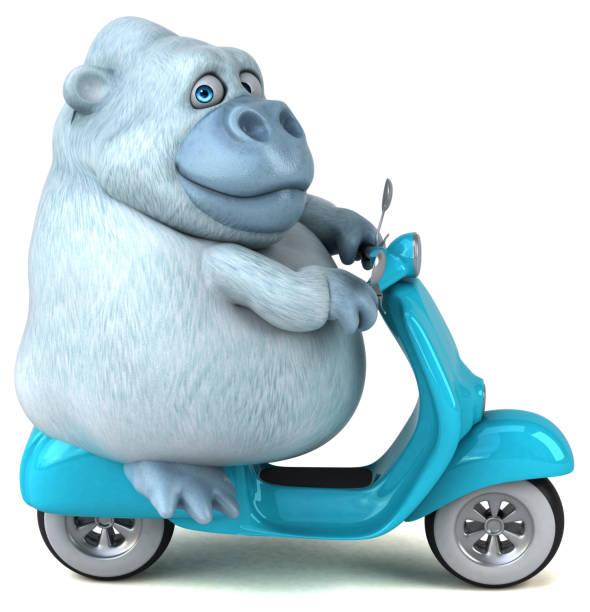 Fun white gorilla 3d illustration picture id931323792?b=1&k=6&m=931323792&s=612x612&w=0&h=fn8fmhjfhmkinxm4ry8cyqplzrzo mu2 jk4o7josn4=