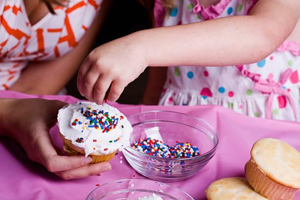 Fun With Cupcakes stock photo
