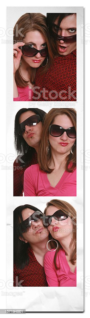 Fun With Shades royalty-free stock photo