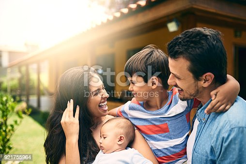 istock Fun with the family 921755964