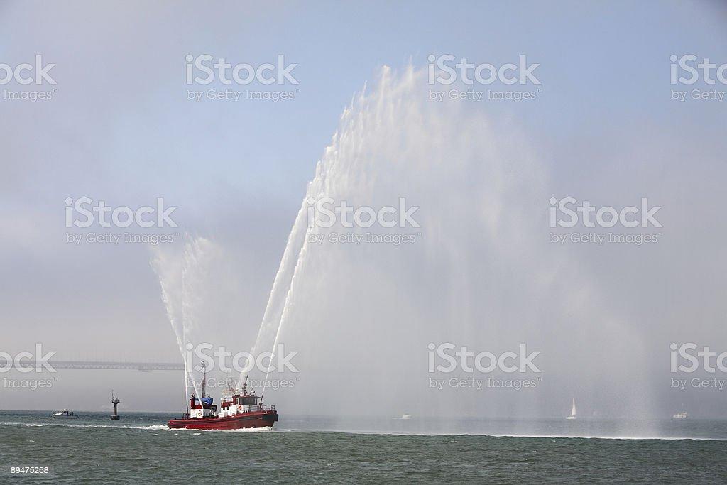 Fun With Water stock photo