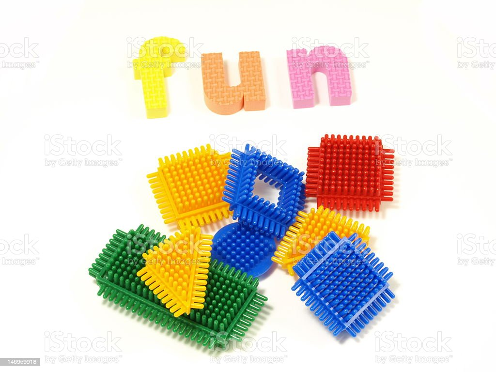 Fun Word And Blocks For Children Stock Photo Download Image Now
