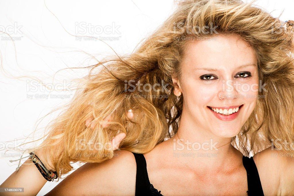 Fun Young Woman royalty-free stock photo