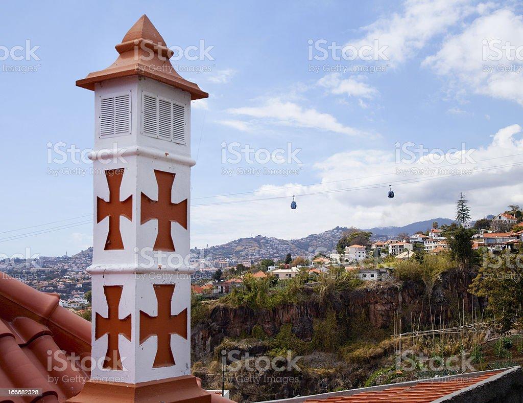 Funchal city, Madeira island, Portugal royalty-free stock photo