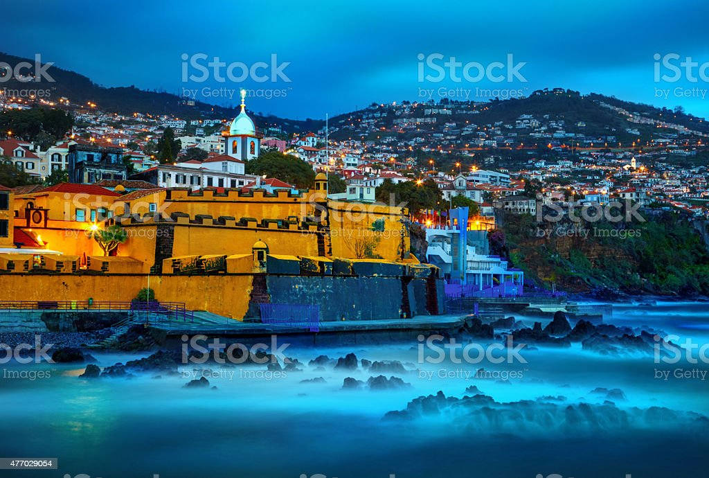 Funchal, Madeira, Portugal stock photo