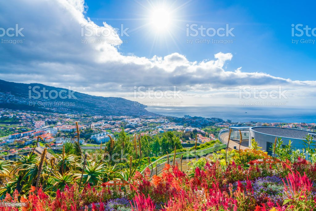 Funchal viewpoint, Madeira - Royalty-free Aldeia Foto de stock