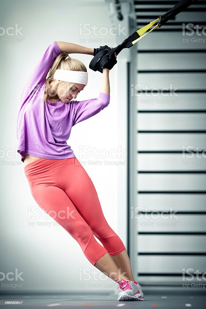 Functional training stock photo