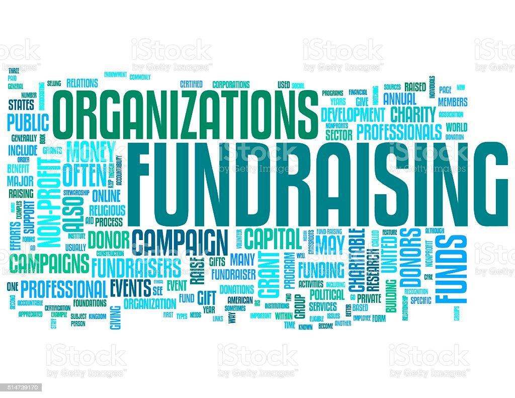 Fundraising stock photo