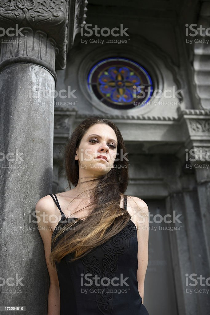 Funeral. royalty-free stock photo