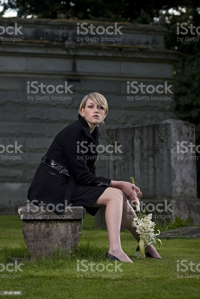 Funeral Portraits royalty-free stock photo