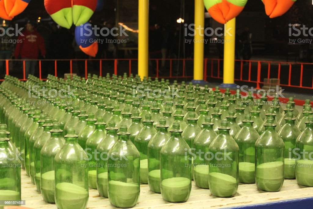 Giochi di Carnevale di Funfair - Foto stock royalty-free di Giochi