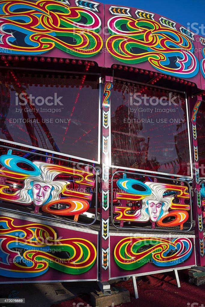 funfair stock photo