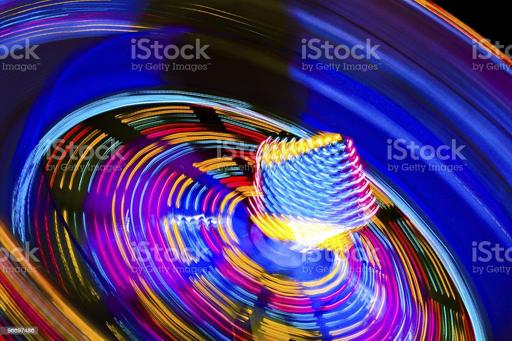 Funfair ride royalty-free stock photo