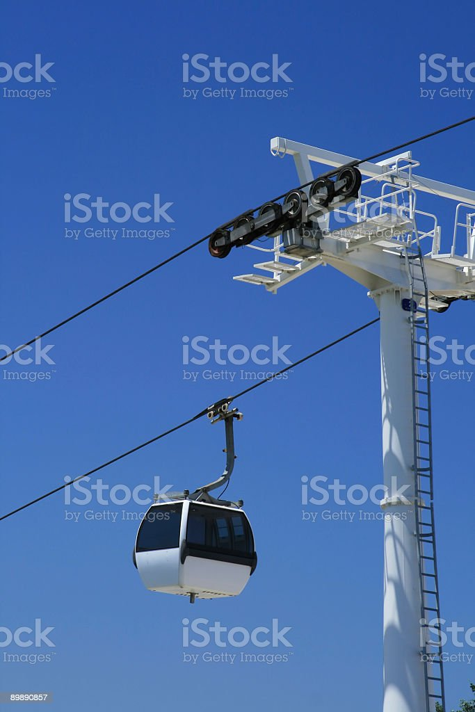 Funicular cabin royalty-free stock photo