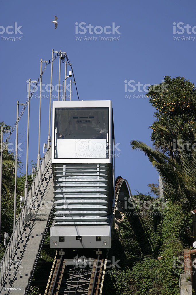 Funicular Railway Porto royalty-free stock photo