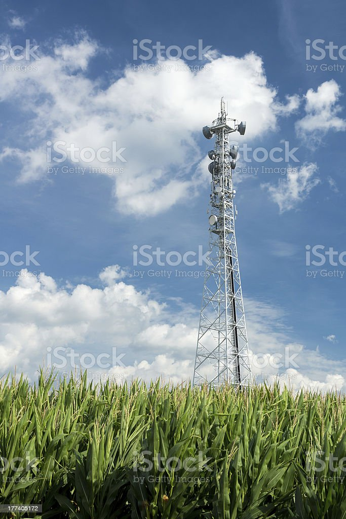 Funkturm, Radio Tower, Transmitting Station stock photo