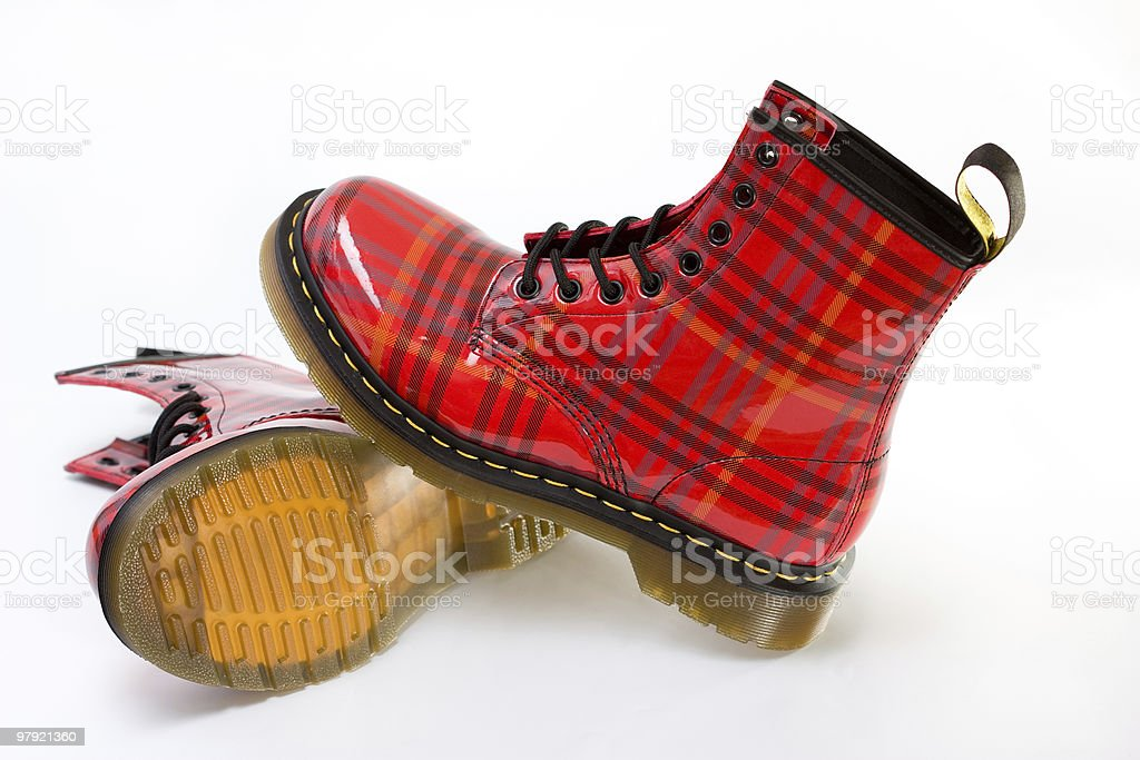 funky boots royalty-free stock photo